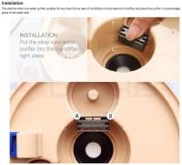 Deerma Air Humidifier (M'sia 3 Pin Wire Plug) 4L F450 M (Black)