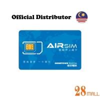 Airsim Global Wifi Roaming Data Sim Card x 2