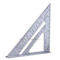 Aluminum Alloy Speed Square 7 inch Combination Carpenter Protractor Framing