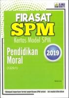 FIRASAT KERTAS MODEL PENDIDIKAN MORAL SPM 2019