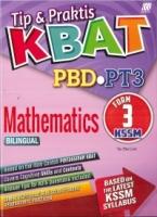 TIP&PRAKTIS PBD KBAT MATHEMATICS(BILINGUAL) FORM 3 KSSM PT3 2019