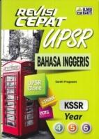 REVISI CEPAT BAHASA INGGERIS YEAR 4,5,6 KSSR UPSR 2019