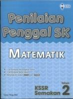 PENILAIAN PENGGAL SK MATEMATIK TAHUN 2 KSSR 2019