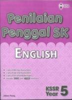 PENILAIAN PENGGAL SK ENGLISH YEAR 5 KSSR 2019