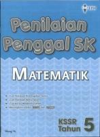 PENILAIAN PENGGAL SK MATEMATIK TAHUN 5 KSSR 2019