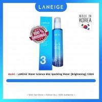 LANEIGE Water Science Mist Sparkling Water [Brightening] 120ml - 100% Original