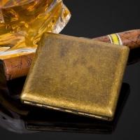 Classic Bronze Cigarette Case