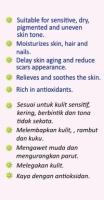 MEDETOP Skin Serum Virgin Coconut Oil & Rose Geranium Essential Oil 50ml (1.69 US fl oz)