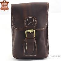 Ironroom Leather Waist Pouch LJC17003BG