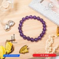 Amethyst 紫水晶手串 9.5 mm bead bracelet