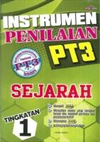 INSTRUMEN PENILAIAN SEJARAH TINGKATAN 1 PT3 2019
