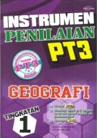 INSTRUMEN PENILAIAN GEOGRAFI TINGKATAN 1 PT3 2019