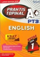 (NUSAMAS)PRAKTIS TOPIKAL A+ENGLISH FORM 1 KSSM PT3 2019