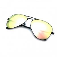 NEVER HIDE SUNGLASSES / GENERAL BLACK/FLASH PINK GLASS UV400 NH93903/Z2