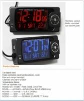 Car Clock Themoeter Humidity Sensor Digital Screen multi-function clock - 12/24V