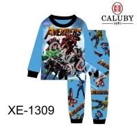 Caluby Pyjamas Avengers Sleepwear (Short Sleeves)