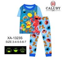 Caluby Pyjamas Elmo Sleepwear (Short Sleeves)