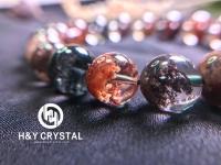 Mixed phantom bead bracelet 彩幽灵手串 10 mm