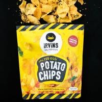 [HALAL] IRVINS Salted Egg Potato Chips (Big) 230g