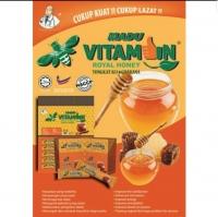 Madu Vitamin ( tongkat ali )