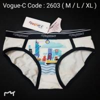 [2603 M~XL] VOGUE-C STYLISH PANTIES ( 2603 )