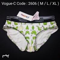 [2606 M~XL] VOGUE-C STYLISH PANTIES ( 2606 )