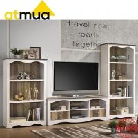 Atmua Ibul 4 Tier Book Shelf [High Quality Partical Board]