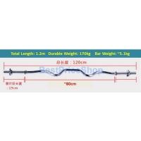 40kg Set B Top Grade Bumper Barbell Dumbbell Weightlifting Bar Gym