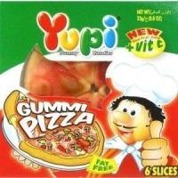 Yupi Gummi Pizza Candy 25.5G