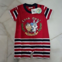 [6~18 MTHS] LOONEY TUNES SHORT SLEEVE ROMPERS ( 2072021846 )