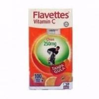 Flavettes Vitamin C 250Mg Orange Flavor 100s