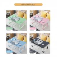 Smart Foldable & Adjustable Wooden Portable Folding Laptop Table