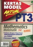 (SASBADI)KERTAS MODEL AKTUAL MATHEMATICS/MATEMATIK(BILINGUAL)PT3 2019
