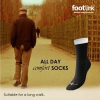 Seamless Cotton Socks (3/4 Crew)