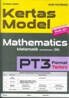 (ALAF SANJUNG)KERTAS MODEL MATHEMATICS/MATEMATIK(DWIBAHASA)PT3 2019