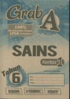 (CEMERLANG PUBLICATIONS)GRAB A SAINS-KERTAS 1 TAHUN 6 2019