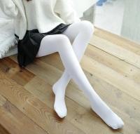 Fashion Quality Leggings Sheer White (Full Length)