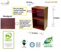 Keyogen 2 Tier wooden multipurpose Utility storage shelf organiser box rack