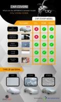 Car Cover Rain Dust Sunlight Resistant Protection for Toyota CHR Honda HRV Nissan Grand Livina (Size YM) (CCL)