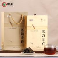 中茶 3年陈 陈韵金砖 (1kg) (2018)
