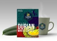 LAMIS Durian White Coffee (40gm x 15 sachets/box)