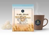 LAMIS High Fibre Coffee Drink with Super Fine Wheat Bran(30gm x 6 sachets/box)
