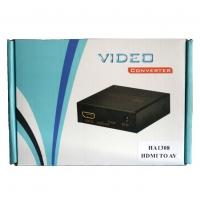 HDMI TO 3 RCA AV CONVERTER BOX - VIDEO CONVERTERHA1308