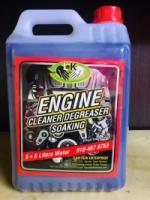 ENGINE CLEANER DEGREASER SOAKING