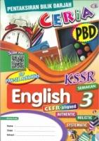 (CEMERLANG PUBLICATIONS SDN BHD)PENTAKSIRAN BILIK DARJAH CERIA ENGLISH YEAR 3 KSSR 2020