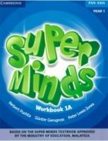 BUKU AKTIVITI SUPER MINDS WORKBOOK 1A YEAR 1