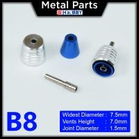 [Metal Part] Metal Thruster / Vents for Gundam Kit (B8, Blue) (2 Units)
