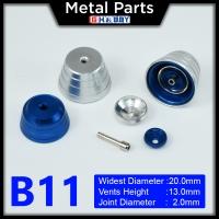 [Metal Part] Metal Thruster / Vents for Gundam Kit (B11, Blue) (2 Units)