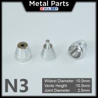 [Metal Part] Metal Thruster / Vents for Gundam Kit (N3, Silver) (2 Units)