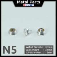 [Metal Part] Metal Thruster / Vents for Gundam Kit (N5, Silver) (2 Units)